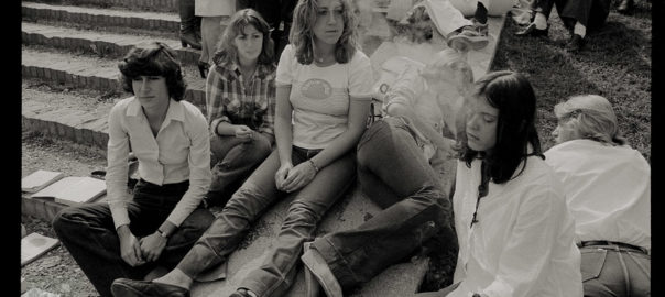 1974-77 Davanti a scuola I